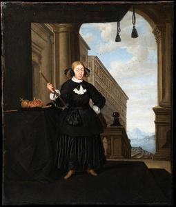 Portret of Koningin Christina of Sweden (1626-1689)