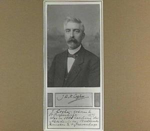 Portret van de kunstenaar Johannes Casper Nicolaas Logher