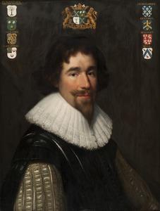 Portret van Andries van der Muelen (1591-1654)