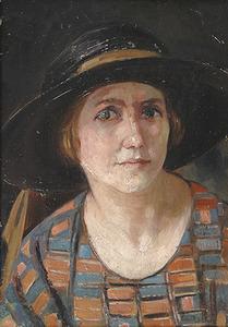 Portret van Josje Steelink