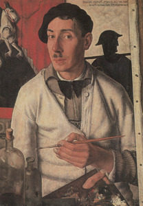 Zelfportret van Dick Ket (1902-1940)