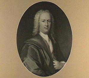 Portret van een man, mogelijk Jan Caspar Nobel, echtgenoot van Johanna Catharina de Jongh