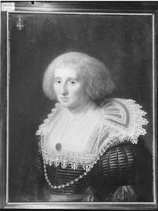 Portret van mogelijk Geertruida van der Capellen (1611-1653)
