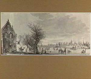 Wintergezicht te Schoonhoven