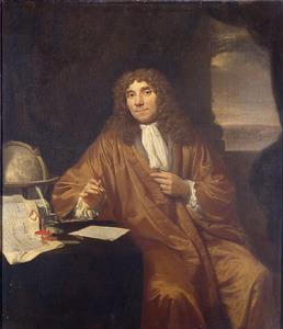 Portret van Anthony van Leeuwenhoek (1632-1723)