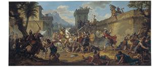 Alexander de Grote's verovering van noord-west India