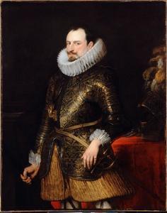 Portret van Emanuele Filiberto van Savoye, prins van Oneglia, onderkoning van Sicilië (1588-1624)