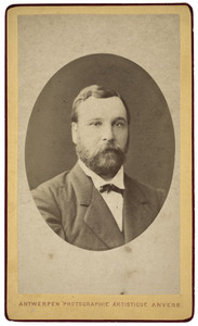 Portret van Michiel Viruly (1842-1895)