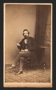 Portret van Charles James Fox (1829-1895)