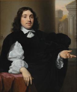 Portret van Jacob van Merken (1625/26-1679)