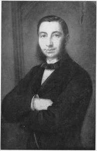Portret van Gregorius Johan van Oordt (1821-1874)