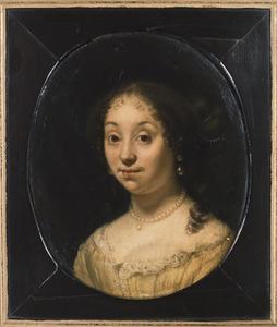 Portret van Elisabeth Ruysch (1645-1704)