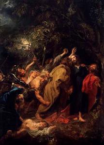 De gevangenneming van Christus en de Judaskus