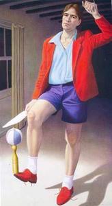 Zelfportret als jongleur