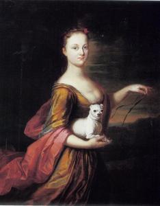 Portret van Diana Warburton, Lady Grosvenor (1703-1730), echtgenote van Sir George Warburton