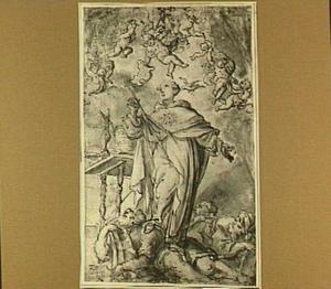 De Heilige Thomas van Aquino overwint de ketterij
