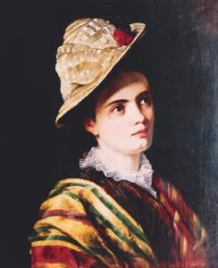 Portret van Marie Henriëtte Deeleman (1852-1898)