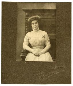 Portret van Wilhelmine Aricie Caroline de Jonge (1885-1959)