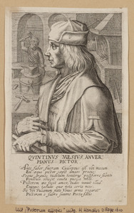 Portret van Quinten Massijs (....-1530)