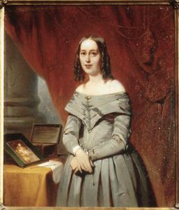 Portret van Henrietta Christina Temminck (1813-1886)