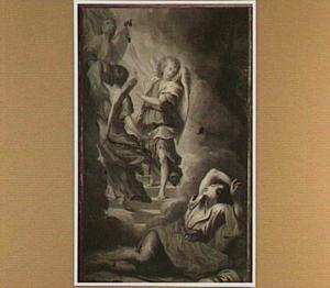 De droom van Jacob: engelen dalen vanuit de hemel langs een trap neer uit de hemel (Genesis 28:10-22)