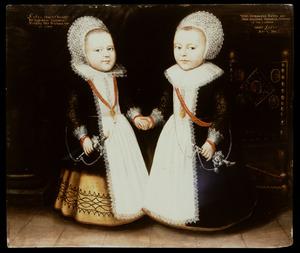 Portret van Conradus Kuver (1628-?) en Gerdrugt Kuver (1628-?)