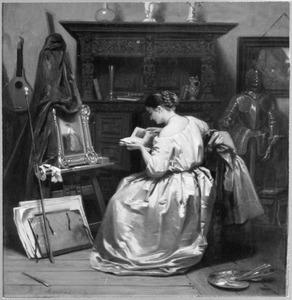 Het schildersmodel