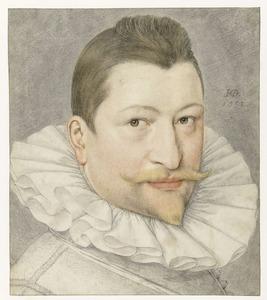 Portret van Johann Sadeler I (1550-1600)