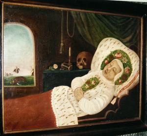 Portret van mogelijk Engh (1647- )