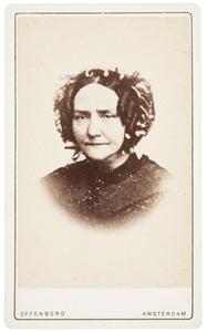Portret van Maria Johanna Mees (1796-1867)