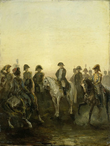 Napoleon I met zijn staf