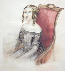Portret van een vrouw uit de familie Gaymans
