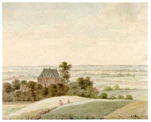Het huis Levendaal bij Rhenen gezien vanuit het zuiden