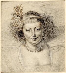 Studie van Hélène Fourment (1614-1673)