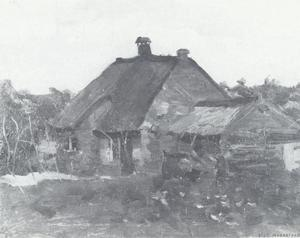 Small farm buildings in Het Gooi