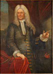 Portret van Johan van der Does (1684-1747)