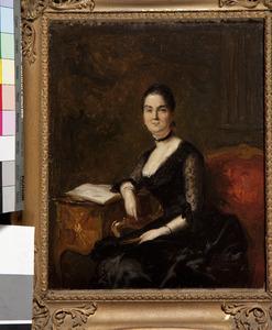 Portret van Eliza Dorothea Boreel (1841-1899)