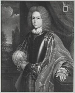 Portret van een man, mogelijk Hendrik van Laer (1680-1721)