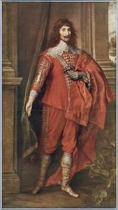 Portret van John Mordaunt, 1st Earl of Peterborough (?-1642)
