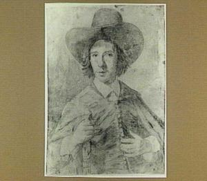 Portret van een jongeman met hoed