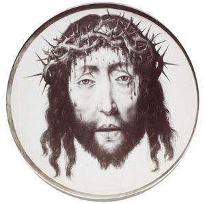 Gelaat van de lijdende Christus