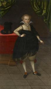 Portret van Rudolf, prins van Brunswijk (1602-1616)
