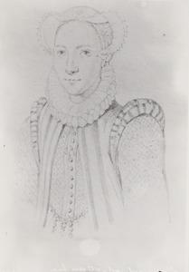 Portret van Alida (Borre) van Overschie (1561-1643)