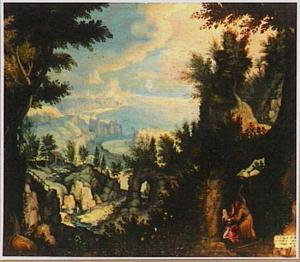 De heilige Guarinus verkracht en vermoordt Riquilda