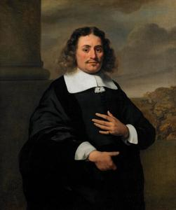 Portret van Quirinus Stercke (?-?)