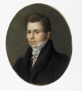 Portret van Jacobus Ludovicus Conradus Schroeder van der Kolk (1797-1862)