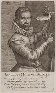Portret van Aert Mijtens (1556-1601)