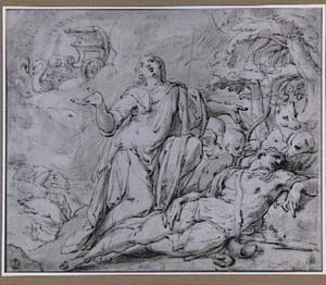 Venus beweent Adonis