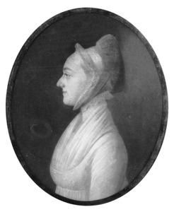 Portret van mogelijk Charlotte Alida Gael (1780-1802)