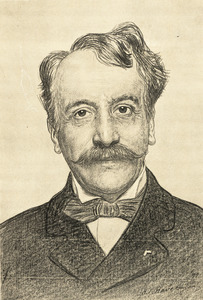 Portret van Antonius Gerardus van Hamel (1842-1907)